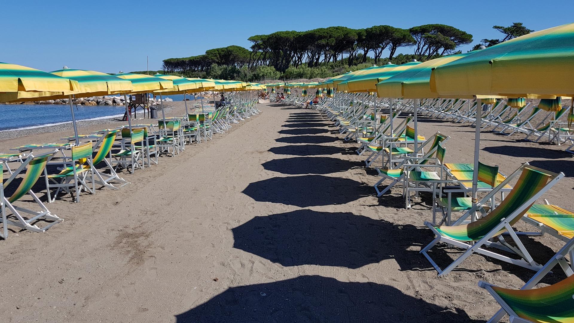 Spiaggia riservata camping bocca di cecina - Bagno tirreno castiglioncello ...